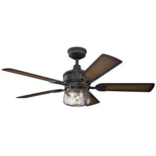 Kichler Lighting 310139DBK Lyndon Patio-52 Ceiling Fan with