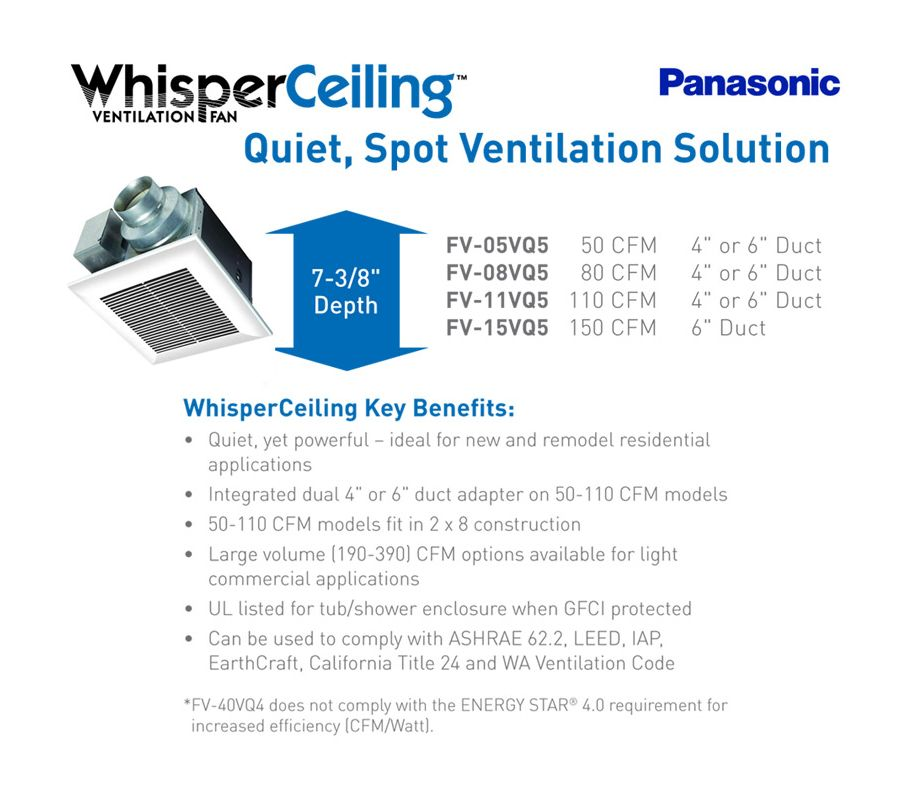 panasonic bathroom fan fv 08vq5 ceiling tiles