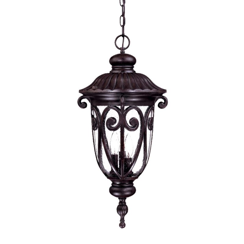 acclaim lighting 2126mm marbleized mahogany naples 3 light
