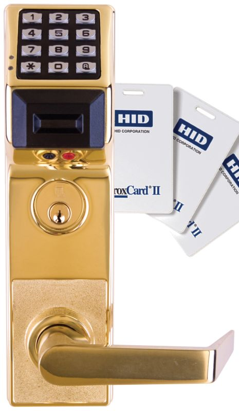 Alarm Lock Pdl3500db 4 Satin Brass Trilogy T3 2000 User