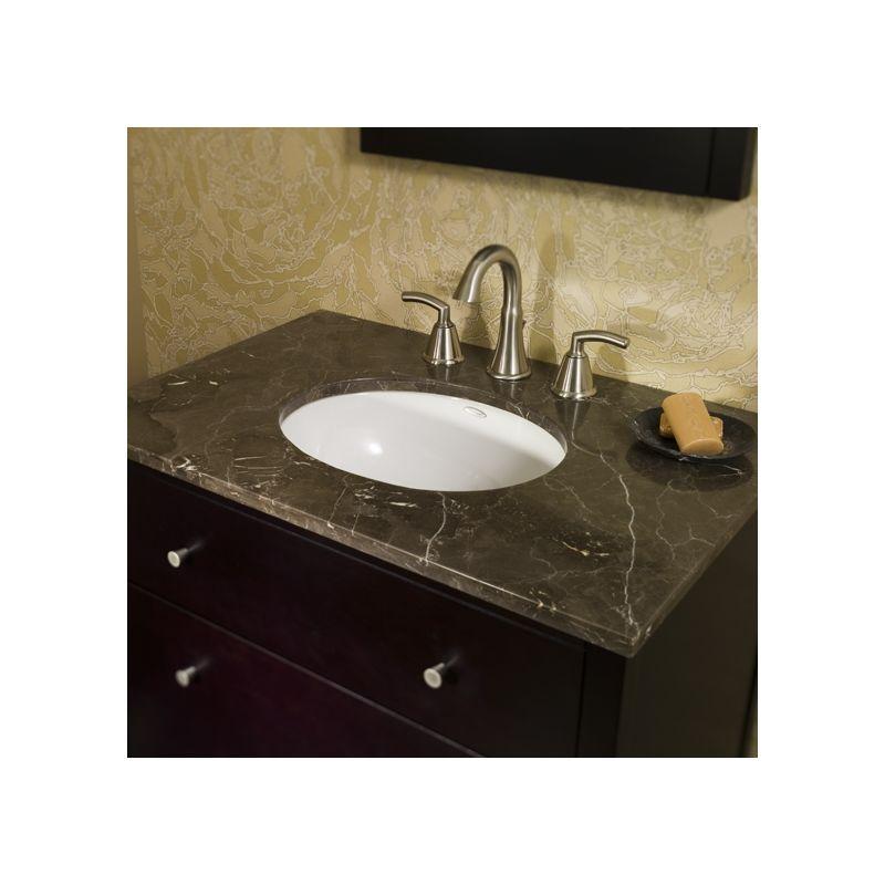 American Standard 0495 300 020 White 495 3 Bathroom Sink
