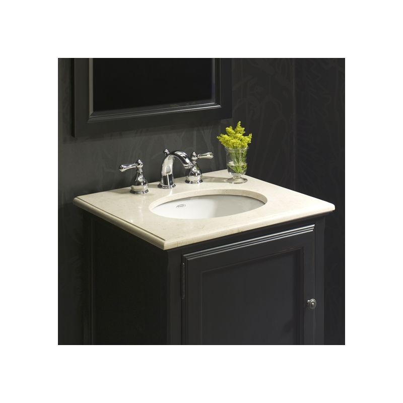 American Standard 0495 300 020 White 495 3 Bathroom Sink