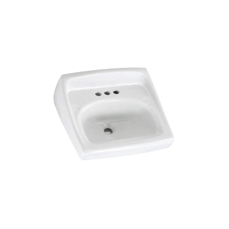 American Standard 0355 012 020 White 355 012 Bathroom Sink