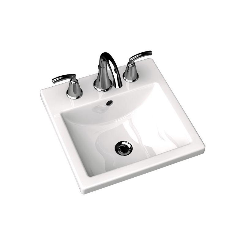 American Standard 0642 001 020 White 642 001 Bathroom Sink