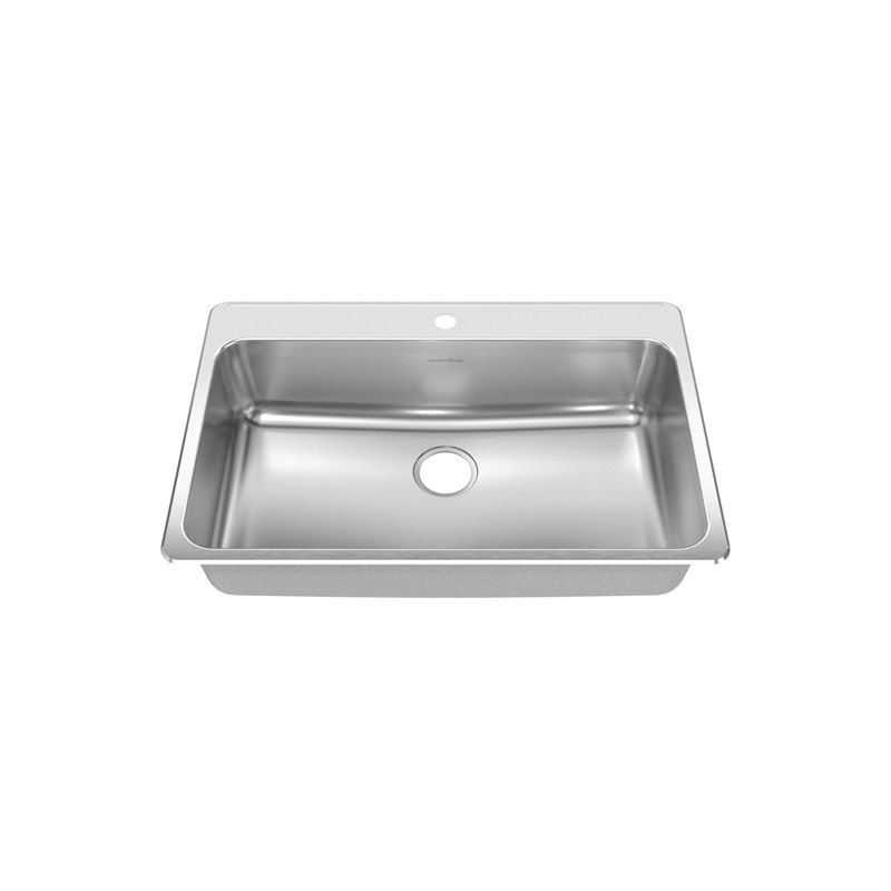American Standard Kitchen Sink With Colander And Cutting Board