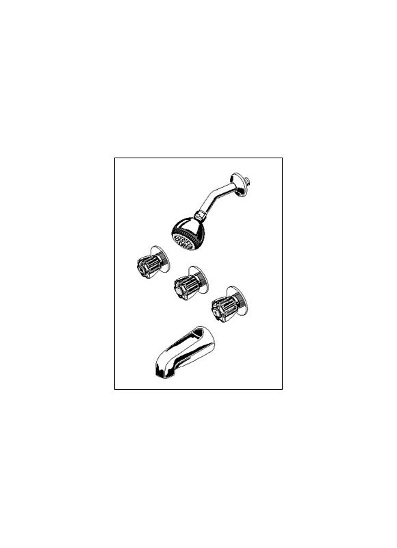 Faucet Com 3375 302 002 In Chrome By American Standard