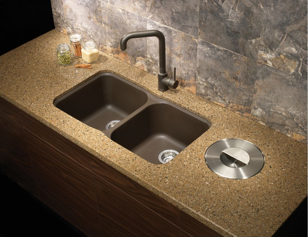 Faucet Com 446007 In Cafe Brown By Blanco