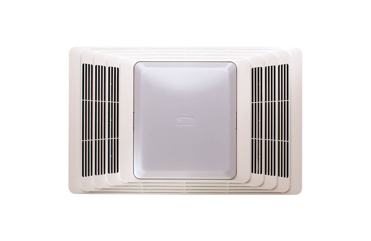 Broan 655 white bathroom fan for Part f bathroom fan
