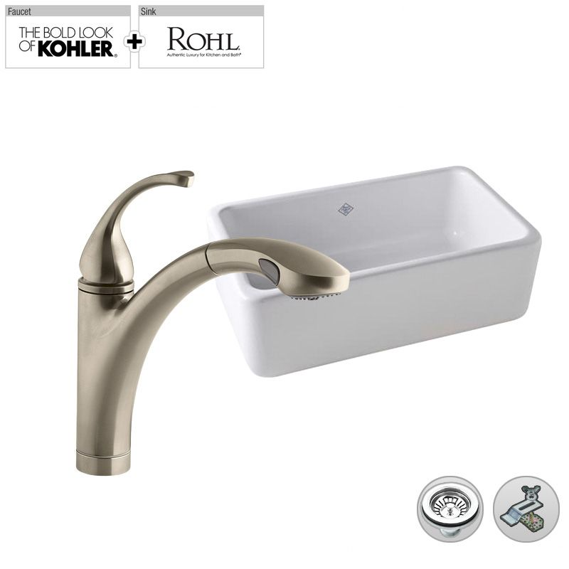 Build Smart Kits RC3018/K-10433BB Brushed Bronze Faucet ...