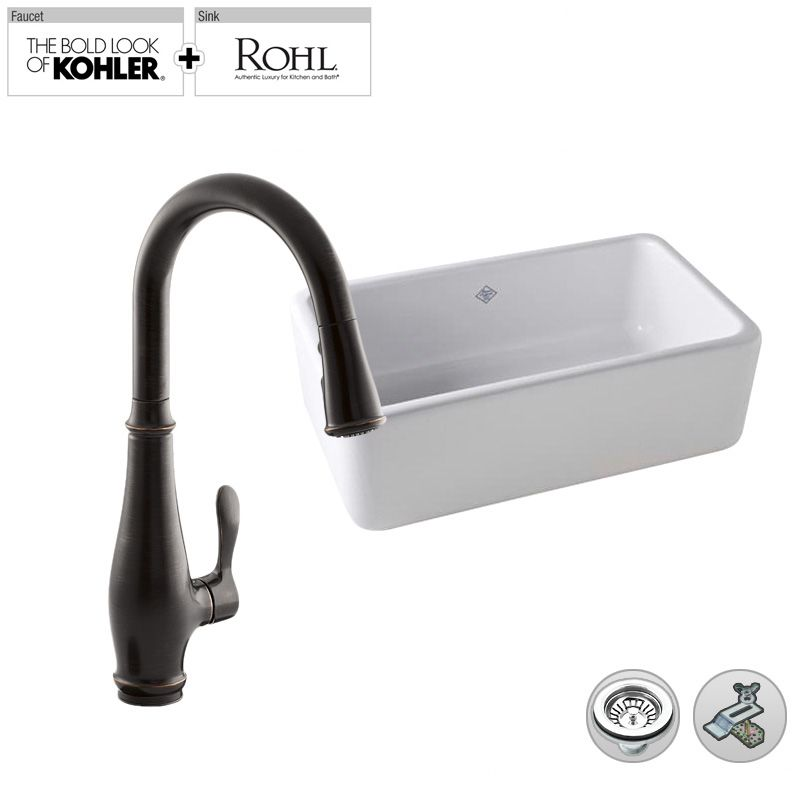 Rc3018 K 7802bz In Oil Rubbed Bronze 2bz Faucet By Build Smart Kits