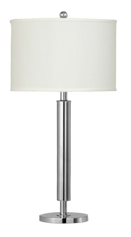 Cal lighting bo 2004tb chrome 150 watt 295quot metal table for 3 way 150 watt floor lamp