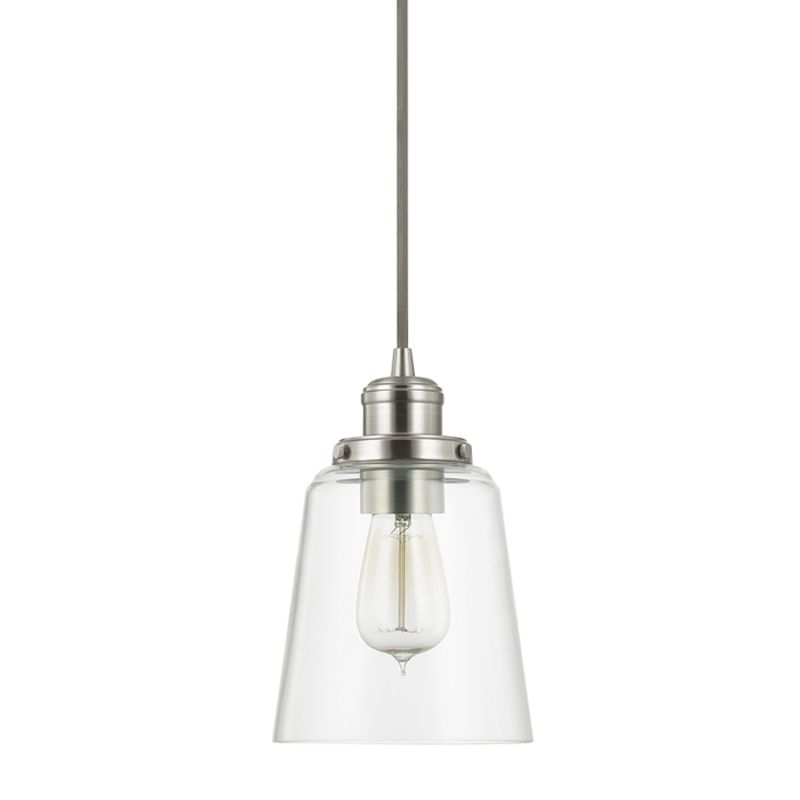 Capital Lighting 3718BN 135 Brushed Nickel Pendant