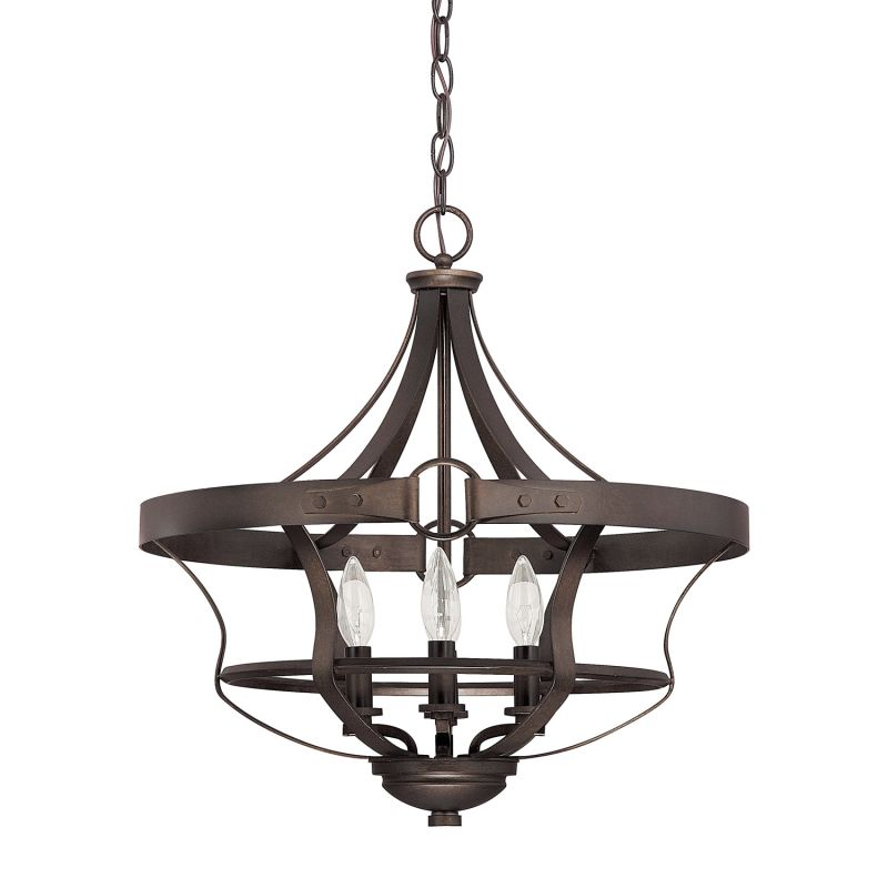 Capital Lighting 4208tb Tobacco Chastain 4 Light 1 Tier