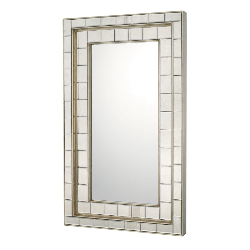 Capital lighting 716901mm antique silver mirrors 30 x 50 for Mirror 50 x 30