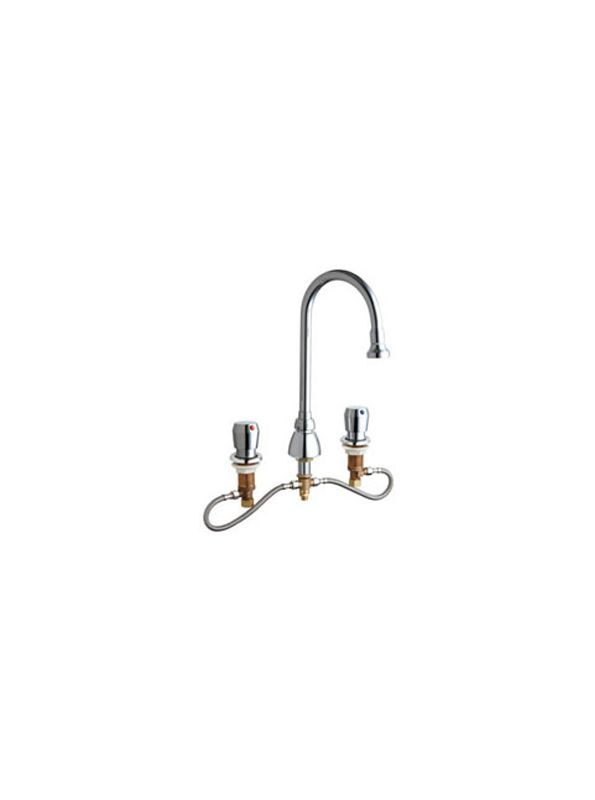 Chicago Faucets 786 Hgn2be4 665ab Chrome Commercial Grade