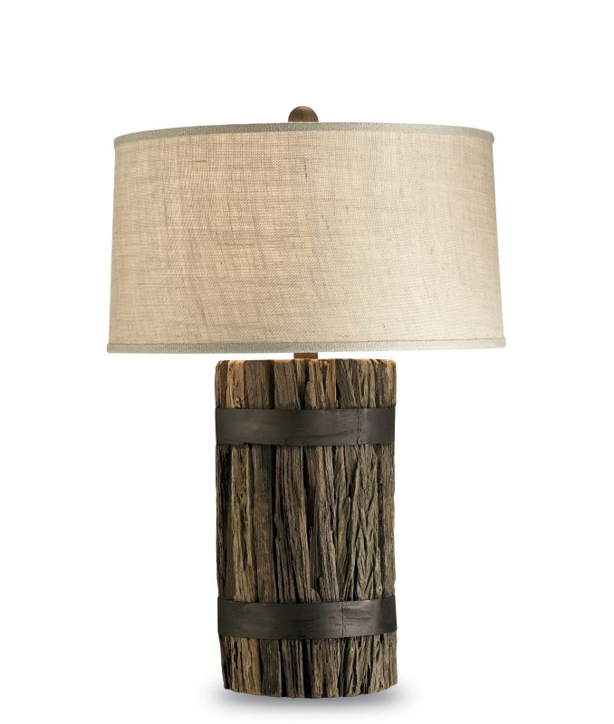 Currey And Company Warranty: Currey And Company 6521 Natural Wood Wharf Table Lamp With