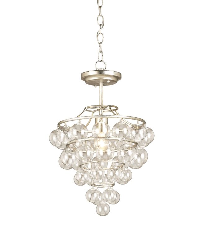 Currey And Company Warranty: Currey And Company 9205 Contemporary Silver Leaf Astral 1