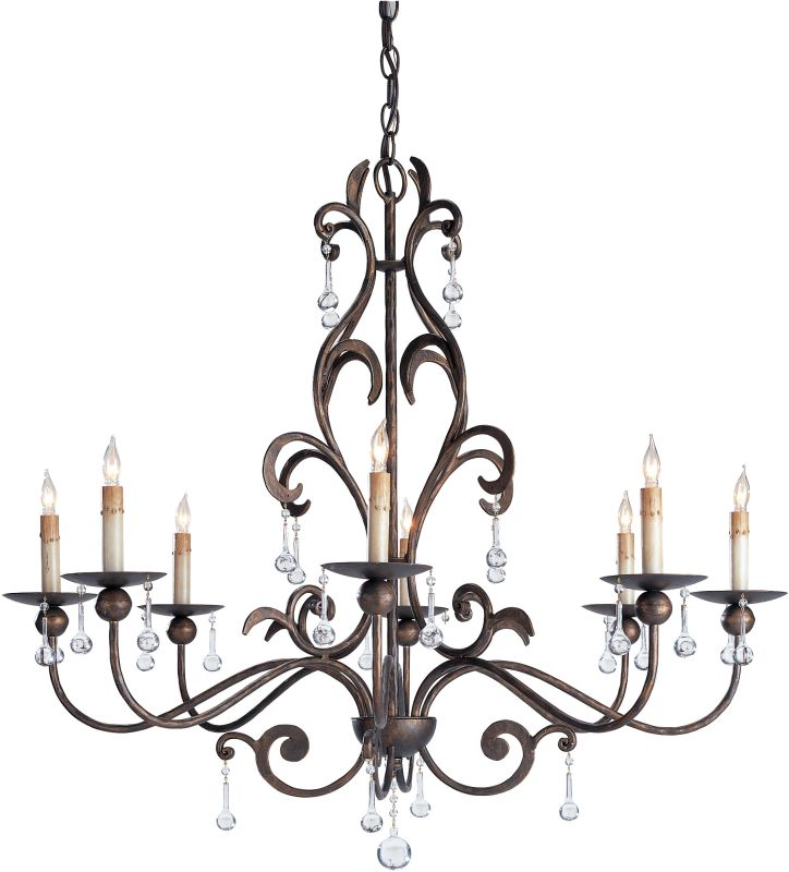 Currey And Company Warranty: Currey And Company 9380 Cupertino Pompeii Chandelier With