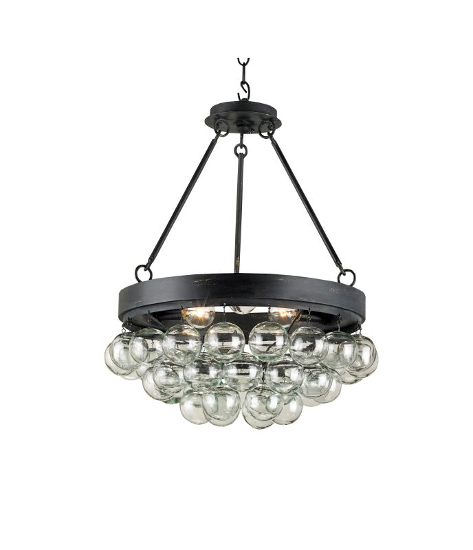 Currey And Company Warranty: Currey And Company 9887 French Black Balthazar 3 Light