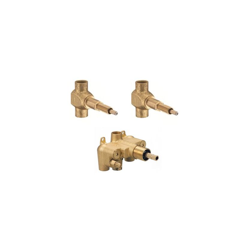 danze 3 valve 3 4 shower valve bundle n a showers shower valves 3 4