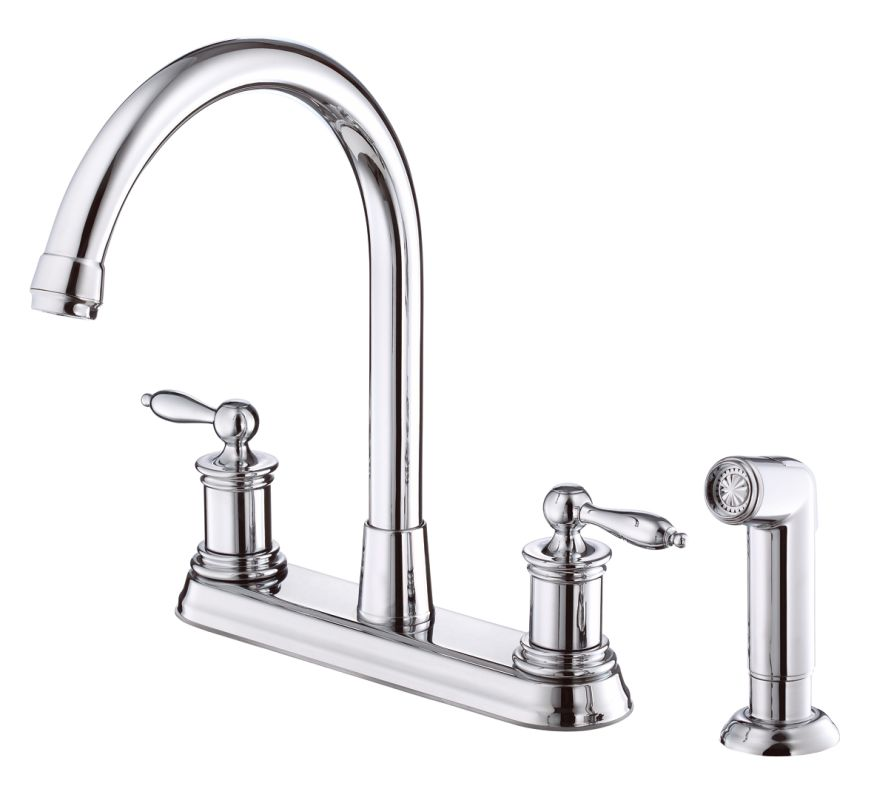 danze dh422010 chrome h c waterware burgundy high arc price pfister classic series handle kitchen faucet repair