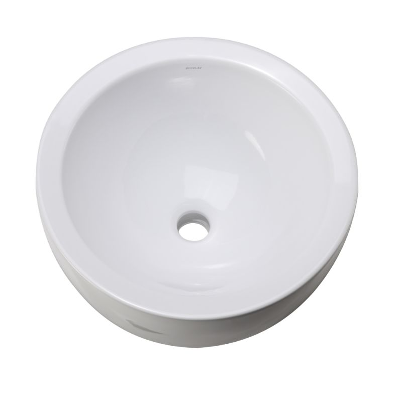 Faucet Com 1418 Cwh In White By Decolav