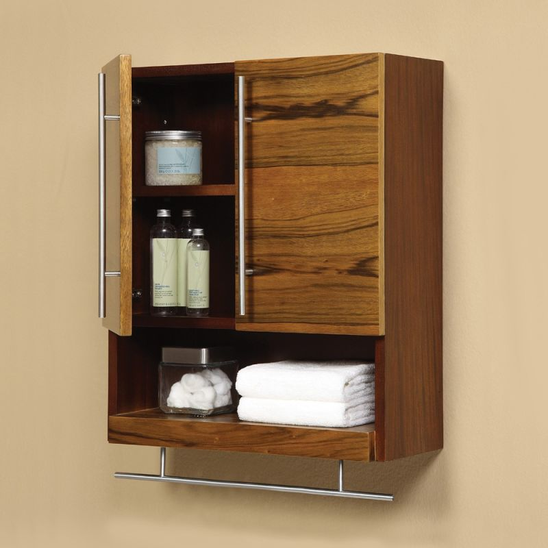 5261 blm in black limba and mahogany by decolav - Modern bathroom wall cabinets ...