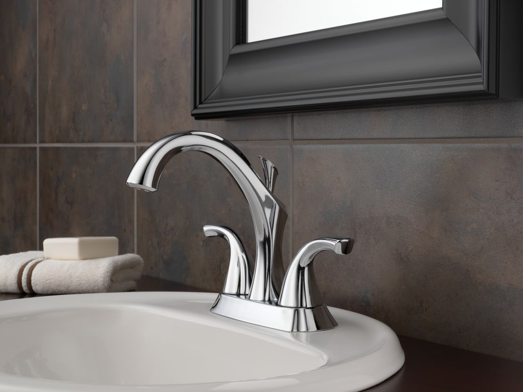 Faucet Com 2592lf Pt In Aged Pewter By Delta