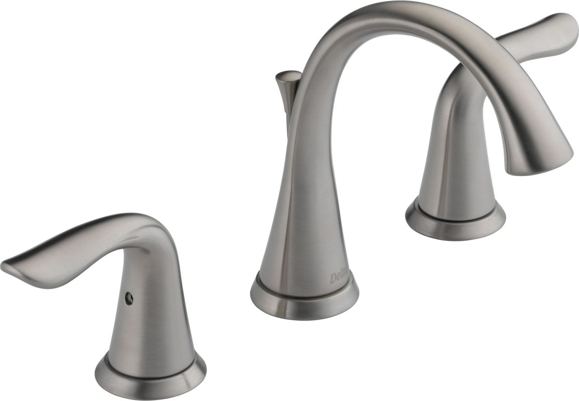 Delta Faucet B3596lf Windemere Polished Chrome Two Handle: Delta 3538-SSMPU-DST Brilliance Stainless Lahara