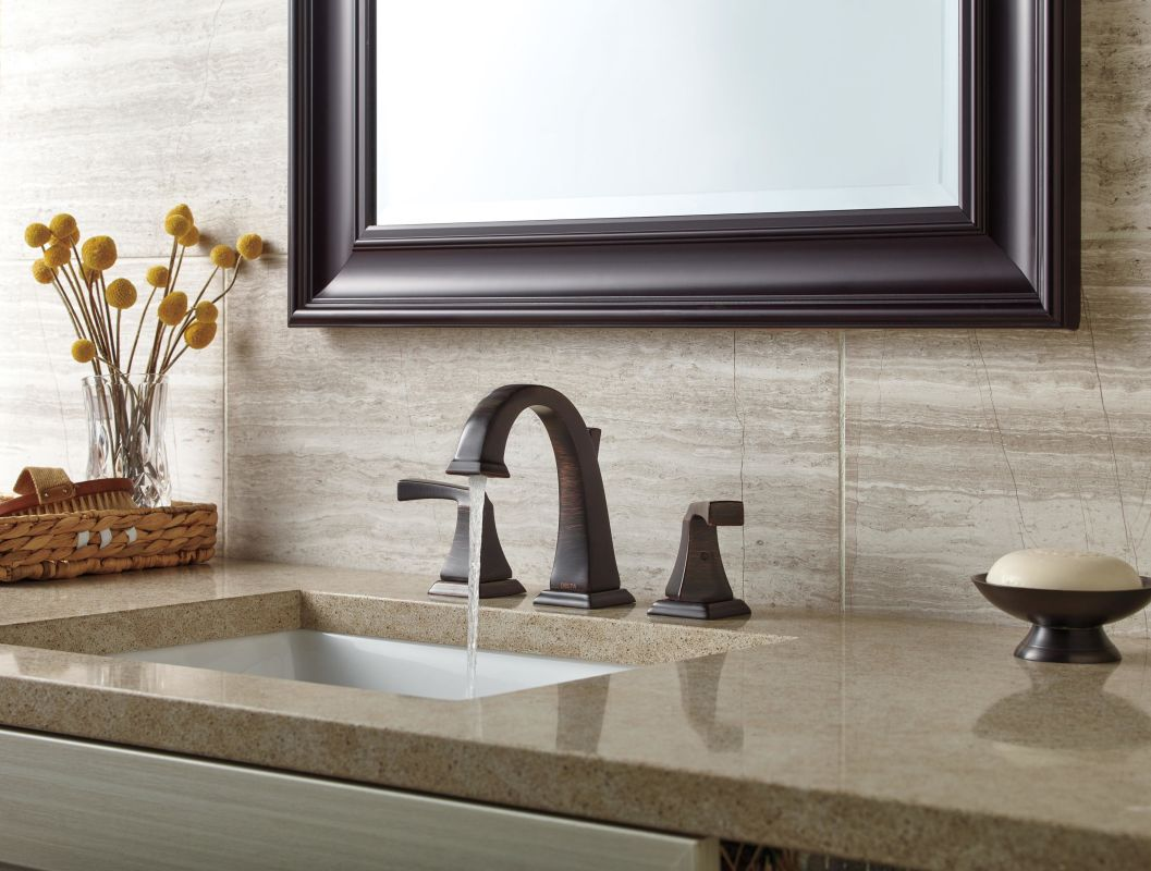 7 Faucet Finishes For Fabulous Bathrooms: 3551LF-PN In Brilliance Polished Nickel By Delta