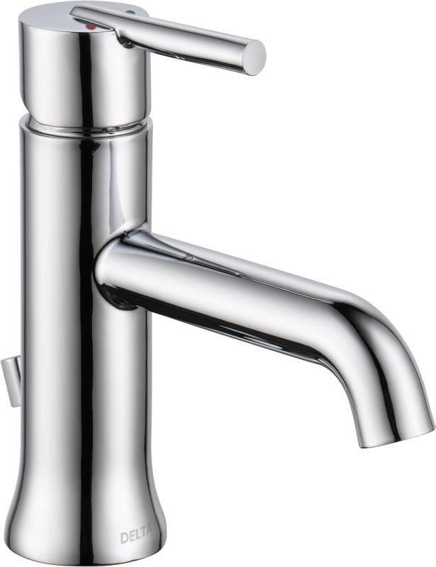Delta 559lf Mpu Chrome Trinsic Single Hole Bathroom Faucet