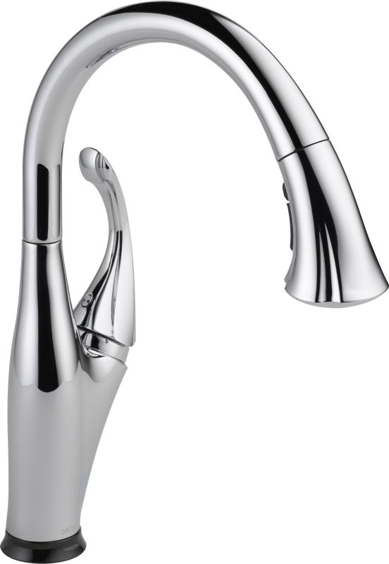 Delta 9192t Dst Chrome Addison Pull Down Kitchen Faucet