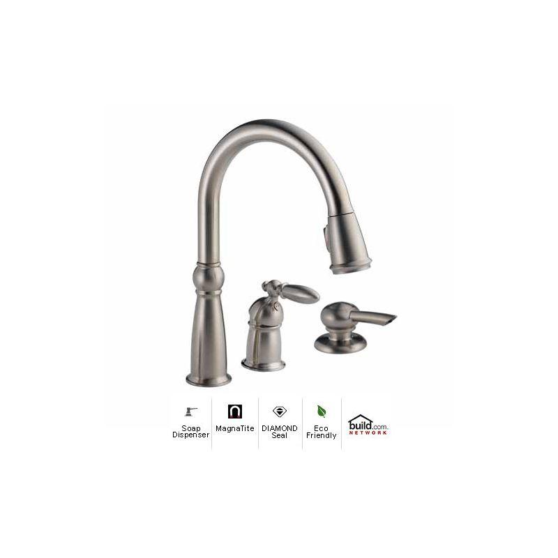 Delta 955 Dst Sd Kitchen Faucet Build Com