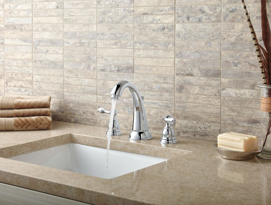 Delta Windemere B3596lf Double Handle Widespread Bathroom: B3596LF In Chrome By Delta
