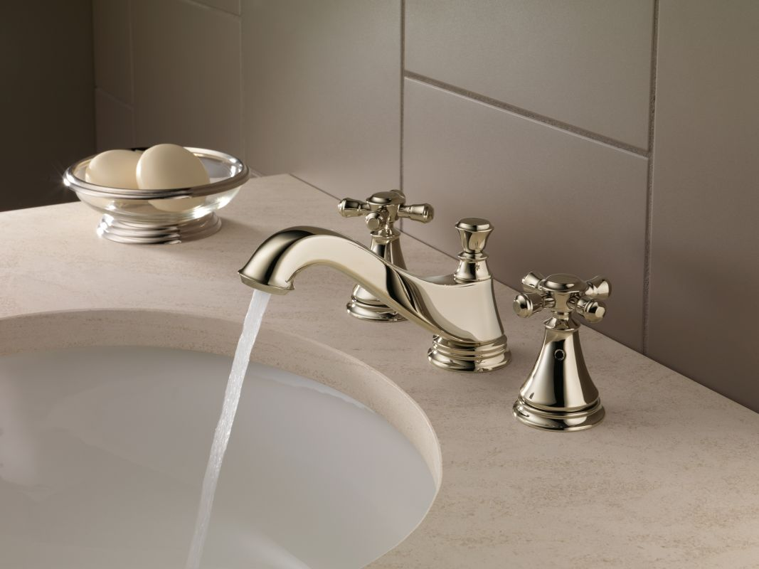 Faucet Com H295pn In Brilliance Polished Nickel By Delta
