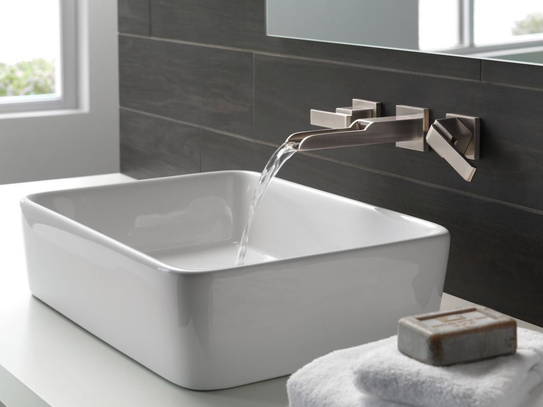 Delta Wall Mount Kitchen Sink Faucet