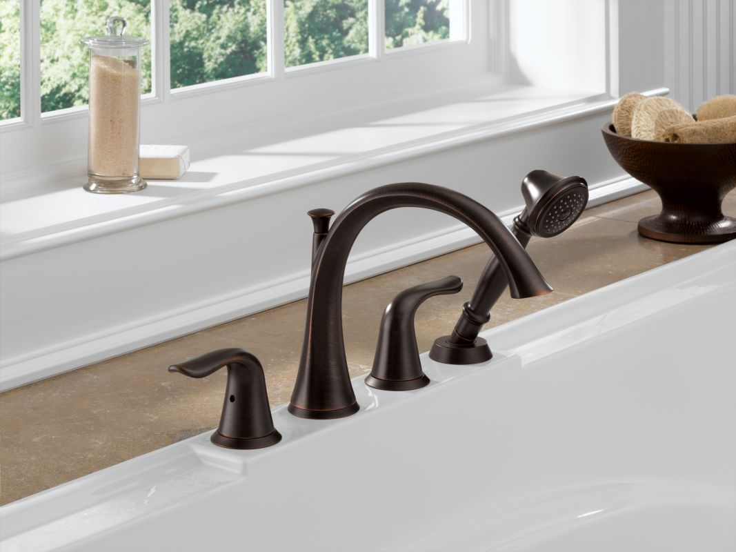 Faucet Com T4738 Ss In Brilliance Stainless By Delta