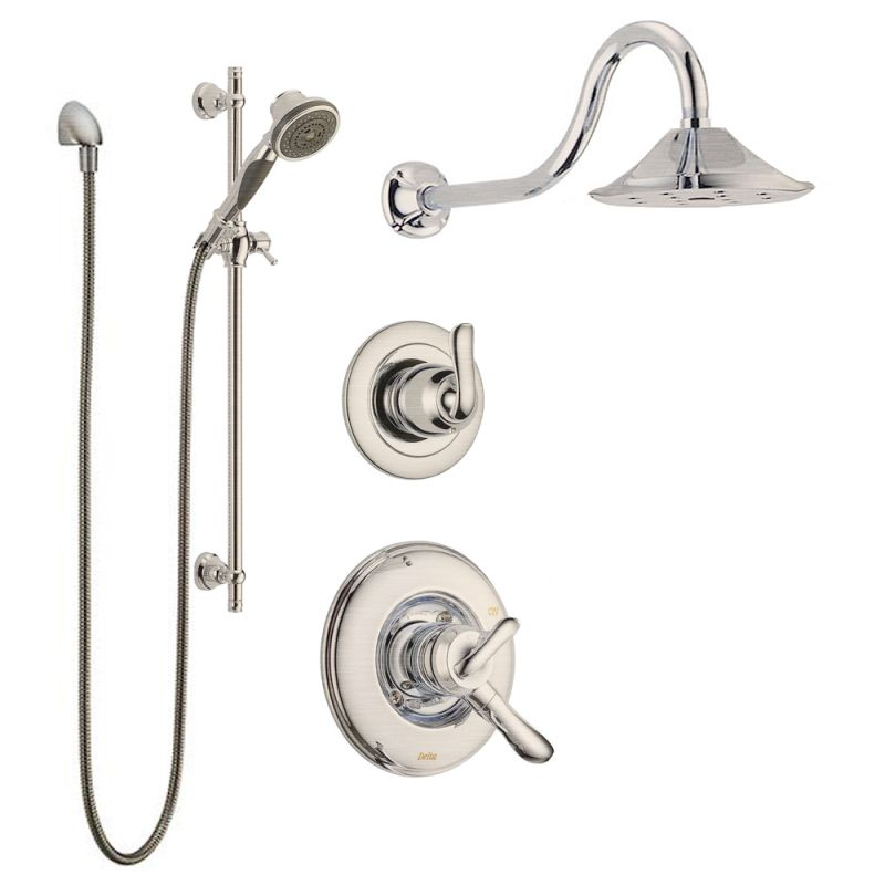 Faucet.com | Linden Monitor Shower Package SS in