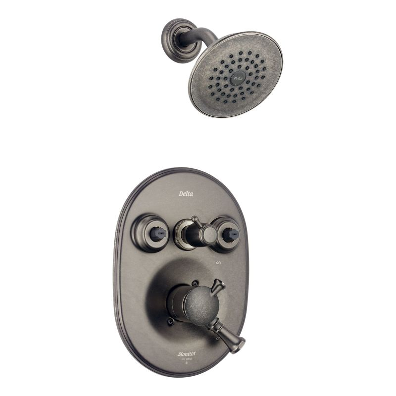 Faucet Com T18240 Ptxo In Aged Pewter By Delta