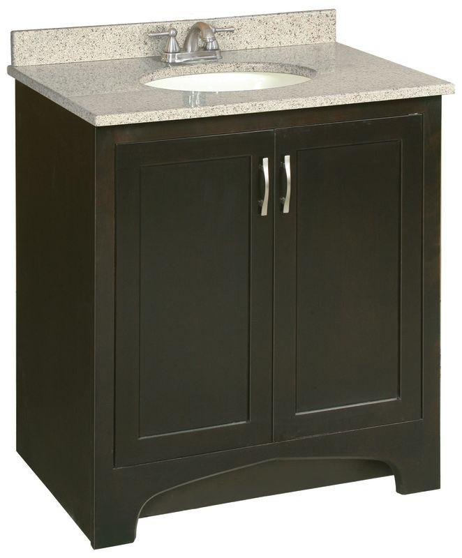 Design House 539593 Espresso Bathroom Vanity