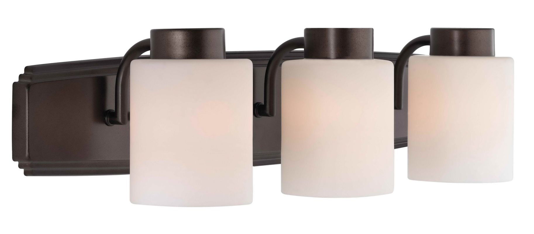 Can Vanity Lights Be Installed Upside Down : Dolan Designs 3503-62 Heirloom Bronze 3 Light 6