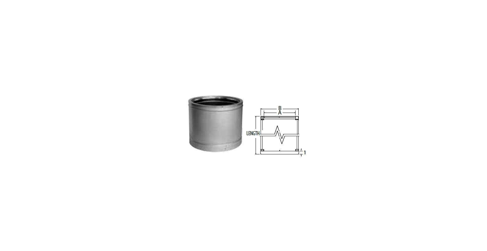 Duravent 22dt 18 Stainless Steel 22 Quot Inner Diameter