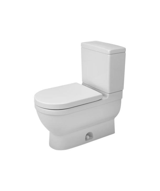 Duravit 2125010000 White Starck 3 Elongated Toilet Bowl