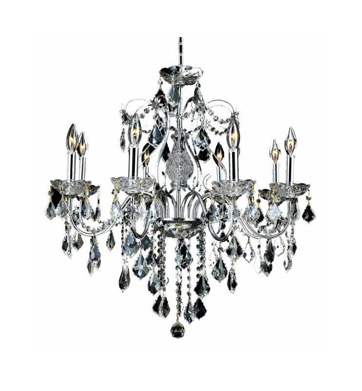 elegant lighting 2015d26c  rc royal cut clear crystal st