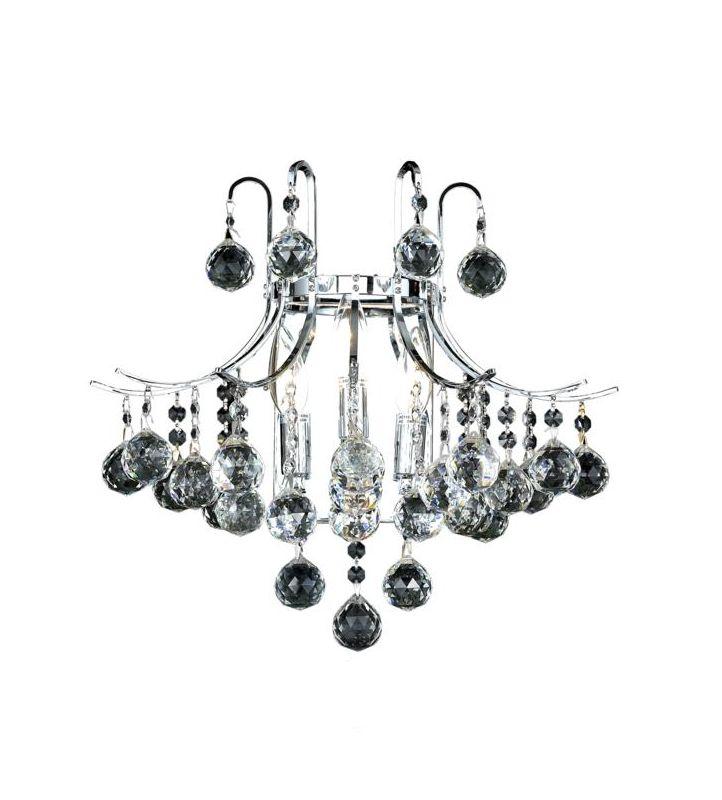 elegant lighting v8000w16c  ss swarovski elements clear