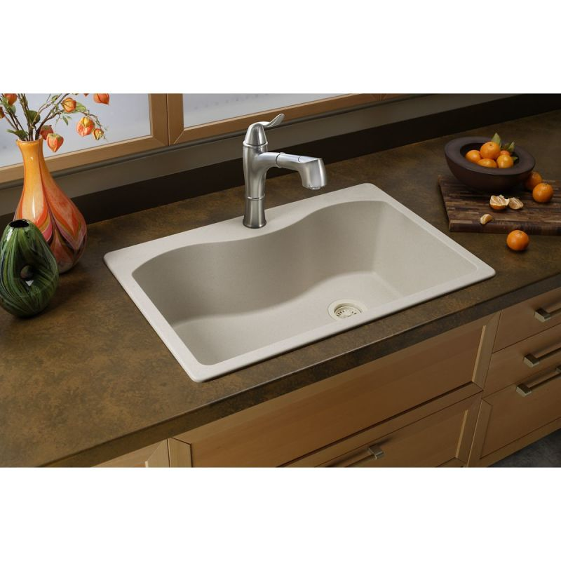 faucet com elgs3322rbq0 in bisque by elkay