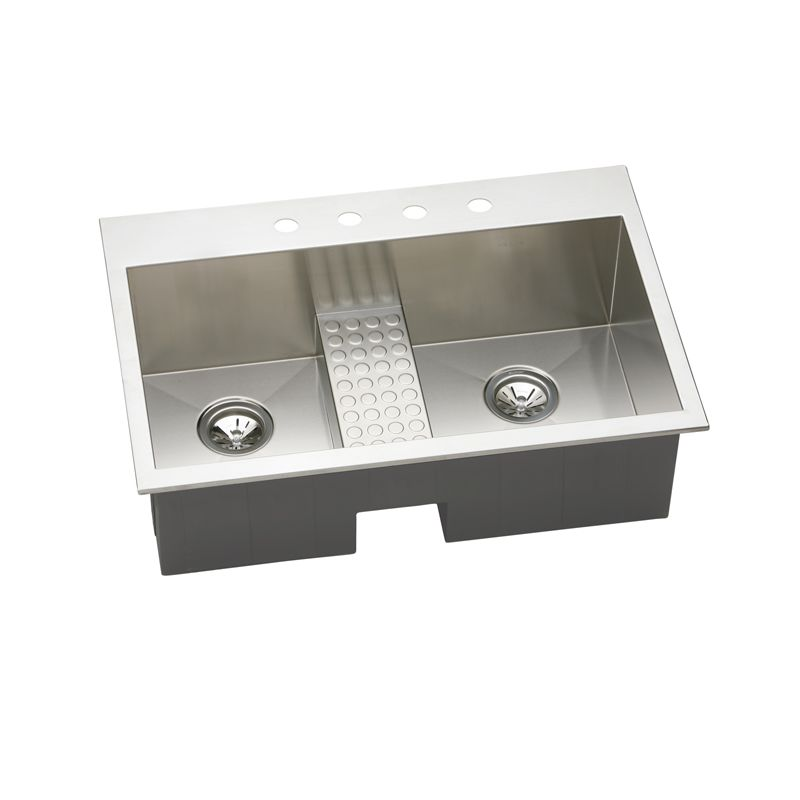 Faucet Com Eftlb332210cdbl1 In Stainless Steel 1