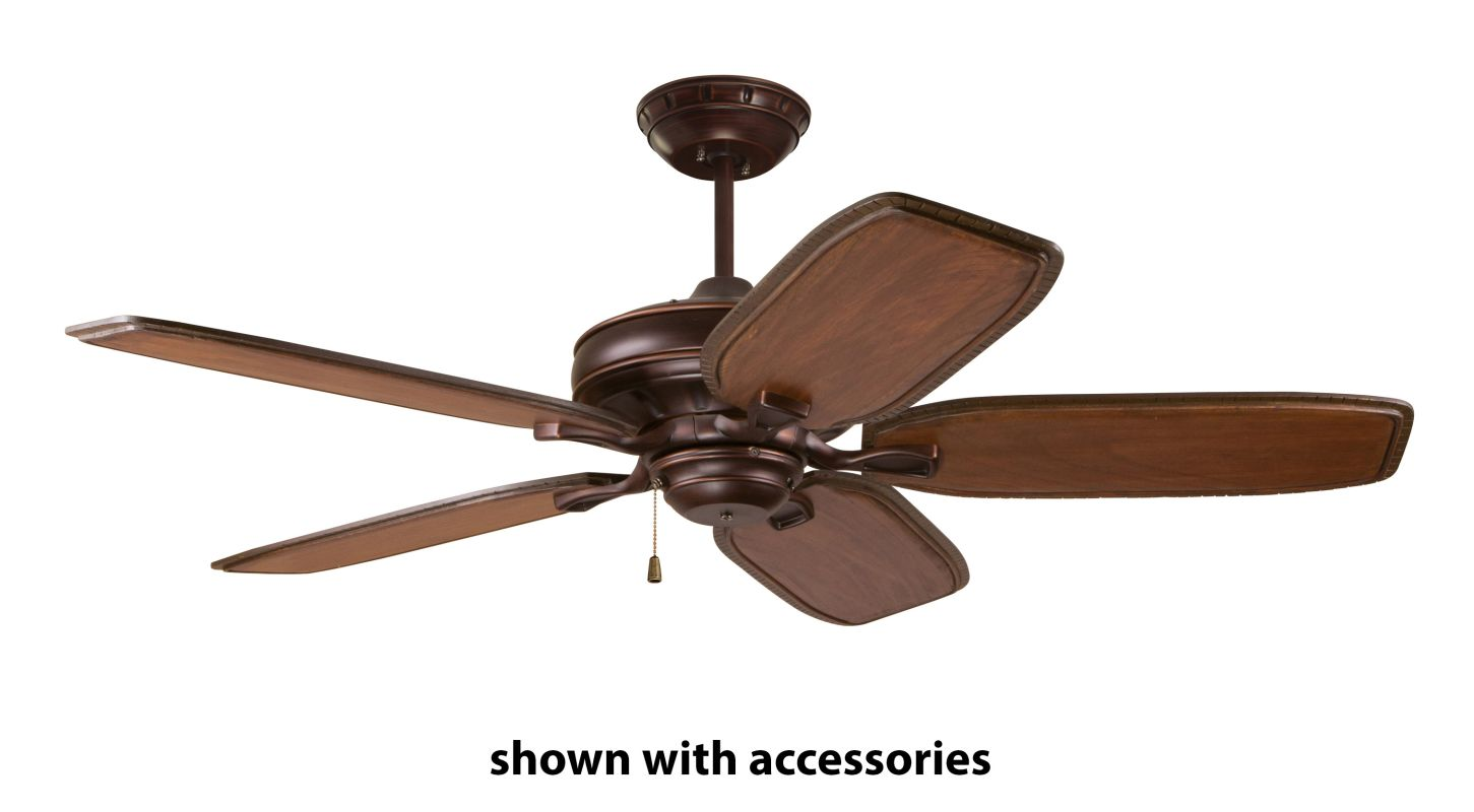 Emerson cf452vnb venetian bronze bella 52 5 blade ceiling for The emerson