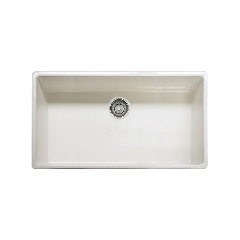 Franke FHK710 36LN Linen Farm House Kitchen Sink Single Basin FaucetDirect