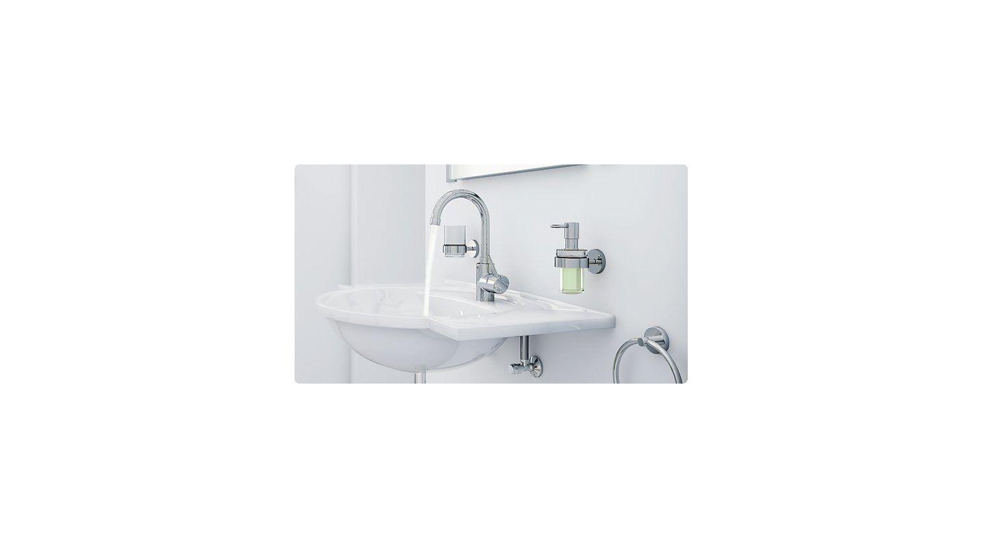 Faucet Com 32138en0 In Brushed Nckel By Grohe